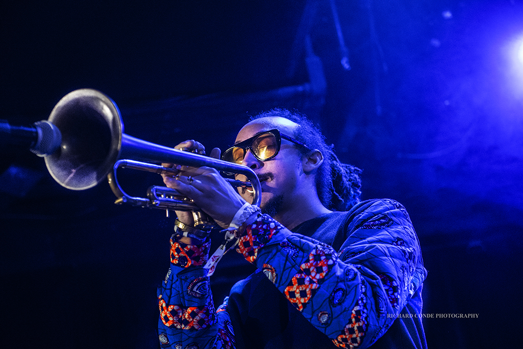 Theo Croker at the 2018 Winter Jazz Festival