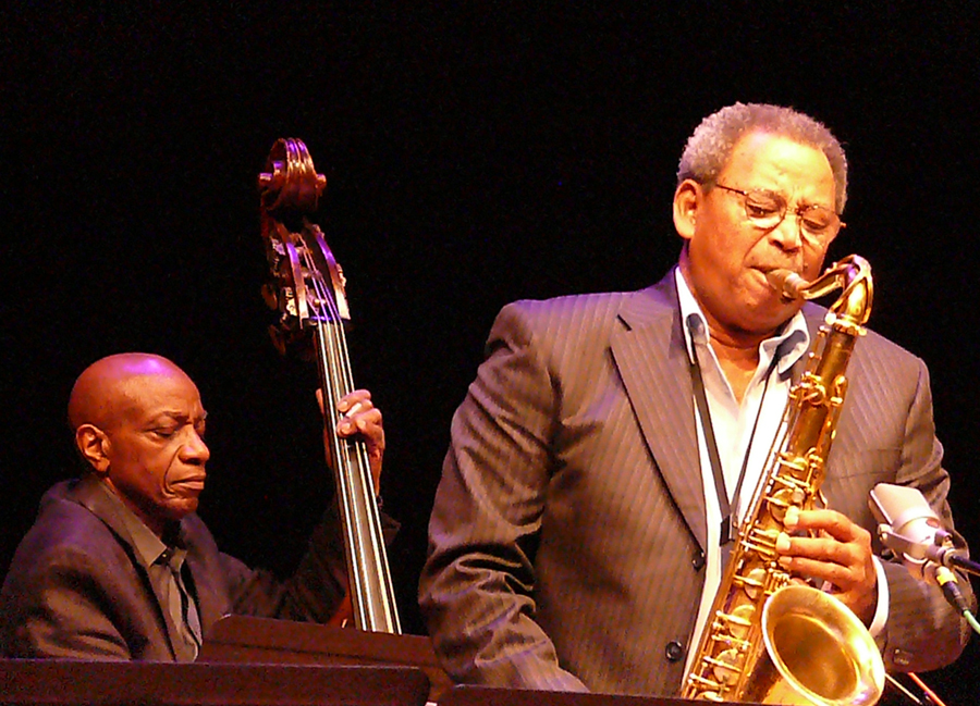 Reggie Workman and Odean Pope