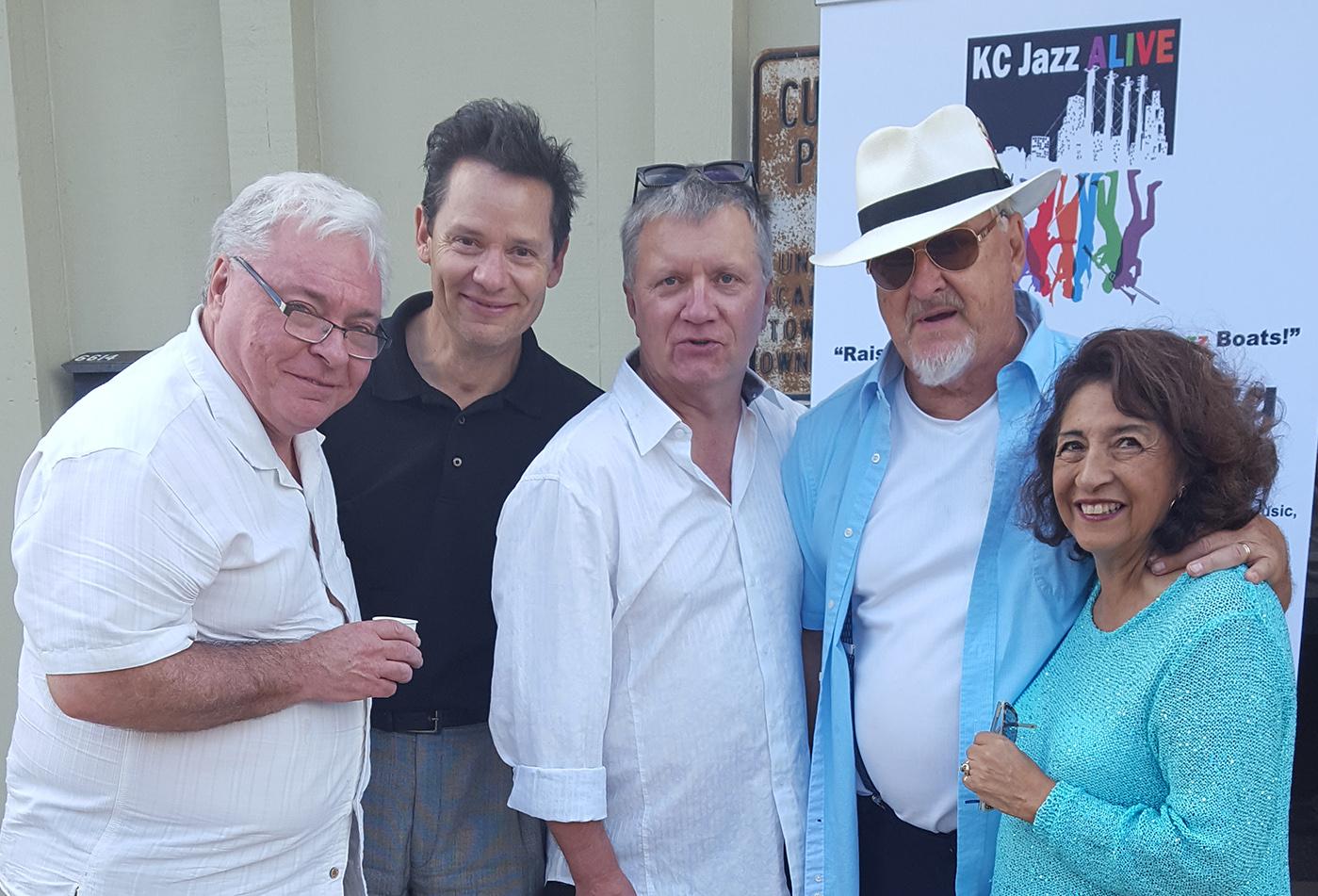 Tom Wells And Geri St. Clair With Guitarist Rod Fleeman, Pianist Michael Pagan, Saxophonist Todd Wilkserson