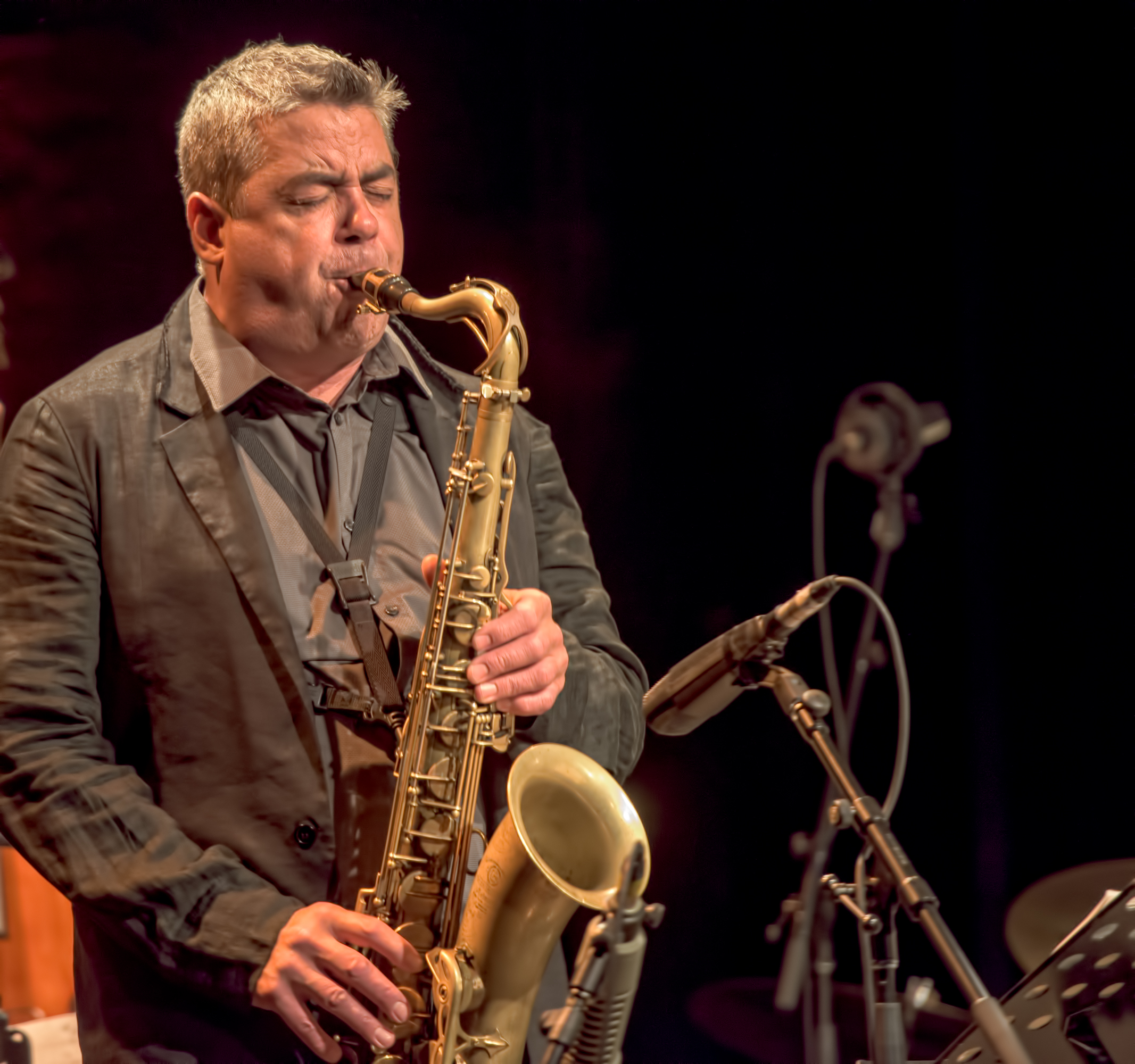 Andre Leroux at the Montreal Jazz Festival 2015