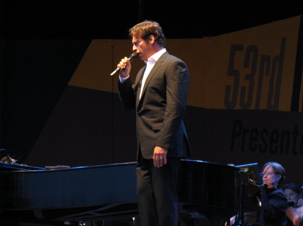 Harry Connick, Jr., at the 2010 Monterey Jazz Festival