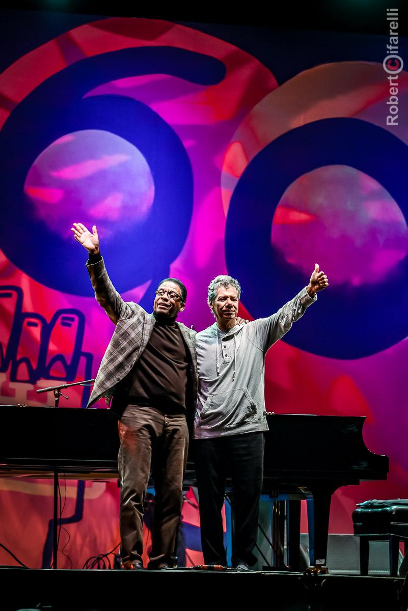 Herbie Hancock & Chick Corea - 60th Monterey Jazz Festival, 2017