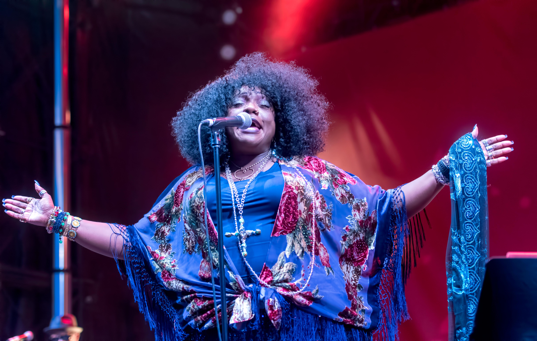 Thornetta Davis At The Montreal International Jazz Festival 2018