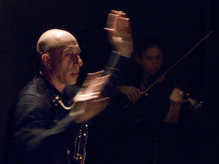 Elliott Sharp Conducting Orchestra Carbon - The Stone 2008