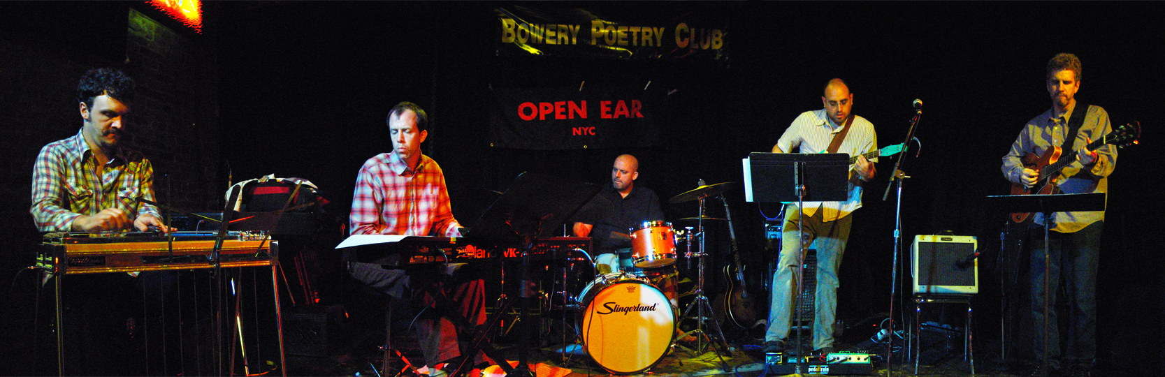 J.A. Granelli and Mr Lucky with Steve Cardenas, Nate Shaw, Gerald Menke &Amp; Diego Voglino - Bowery Poetry Club 2005