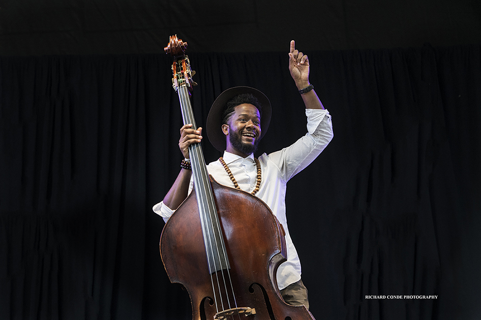 Ben Williams at the 2017 Charlie Parker Jazz Festival