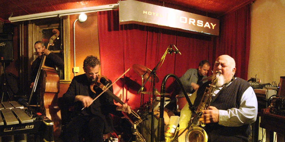 Joe Maneri Quartet with Mat Maneri, John Lockwood and Randy Peterson - Barbs 2005