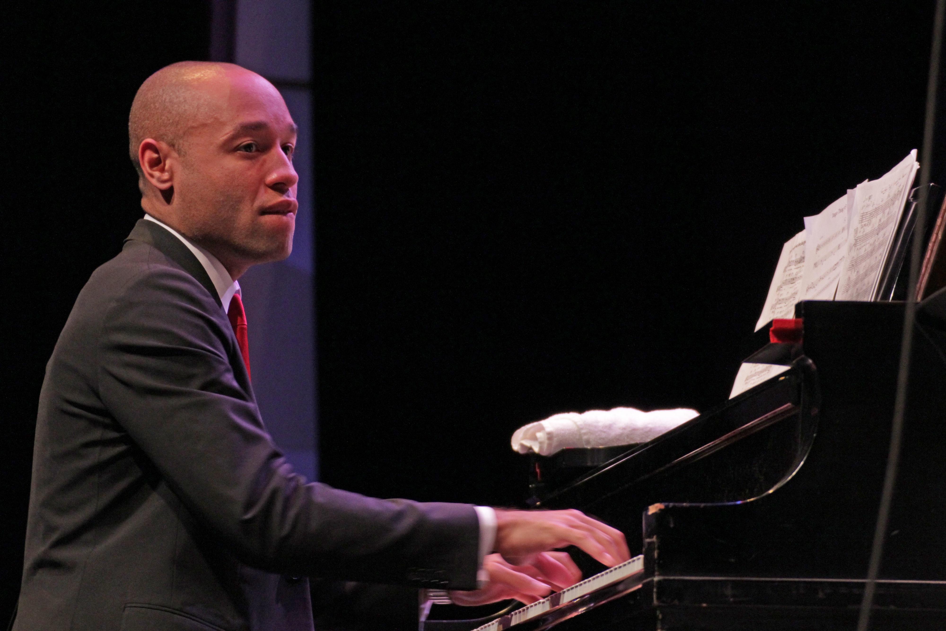 Aaron diehl at tri-c jazzfest cleveland 2013