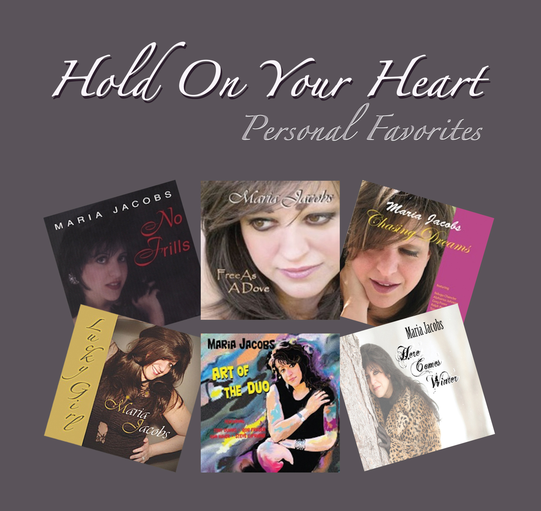 Hold On Your Heart (Album Cover)