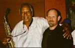 Chuck Koton with Be Bop Great Frank Morgan at Catalina's Copy