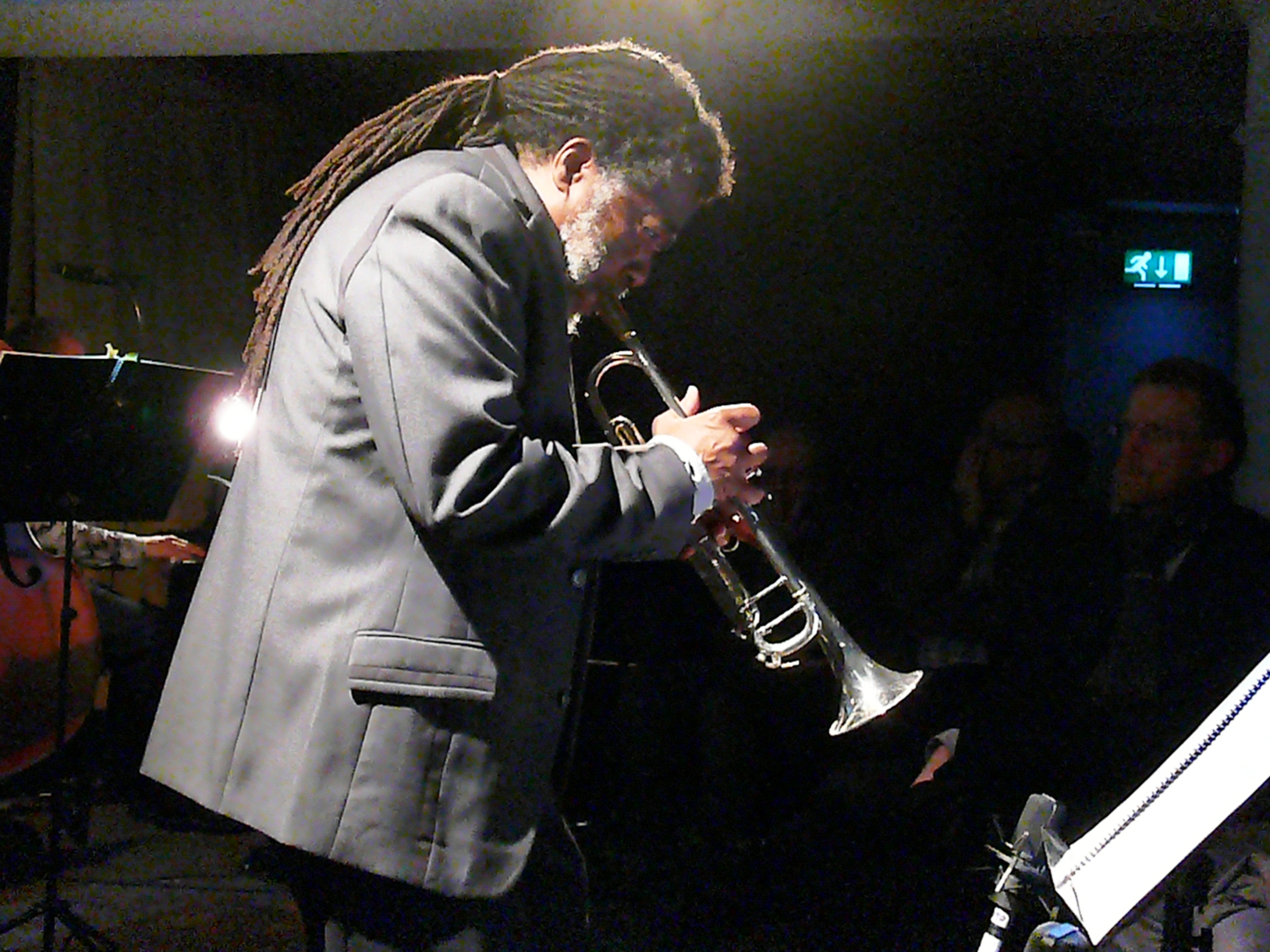 Wadada leo smith at cafe oto as part of the london jazz festival in november 2013