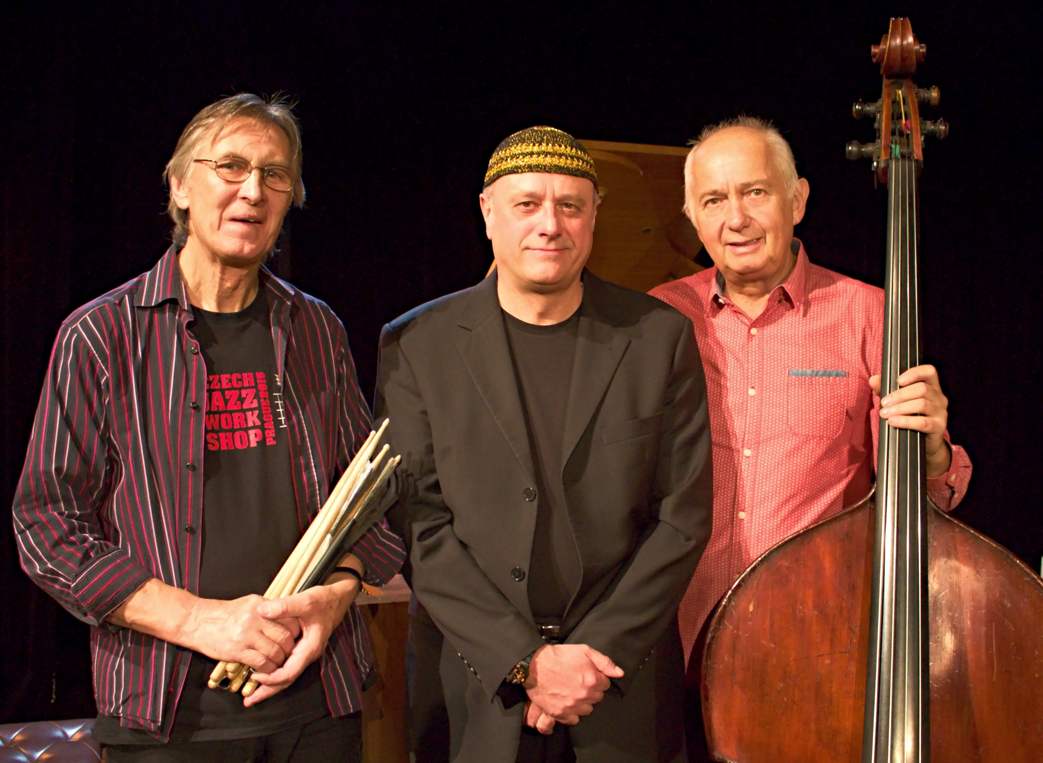 Roberto Magris with the MUH Trio, with Frantisek Uhlir and Jaromir Helesic