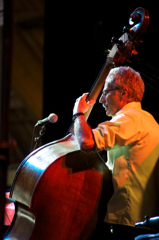 Mario Pavone at the Litchfield Jazz Festival