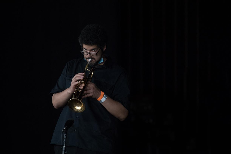 Josh Evans at the 2021 Freihofer's Saratoga Jazz Festival