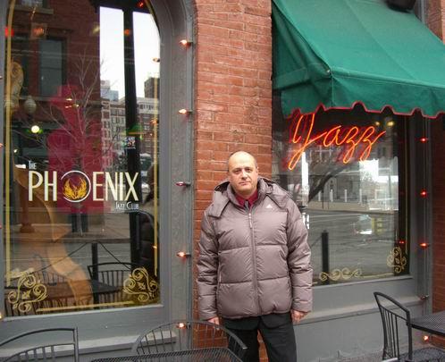 Roberto Magris at the Phoenix Jazz Club in Kansas City