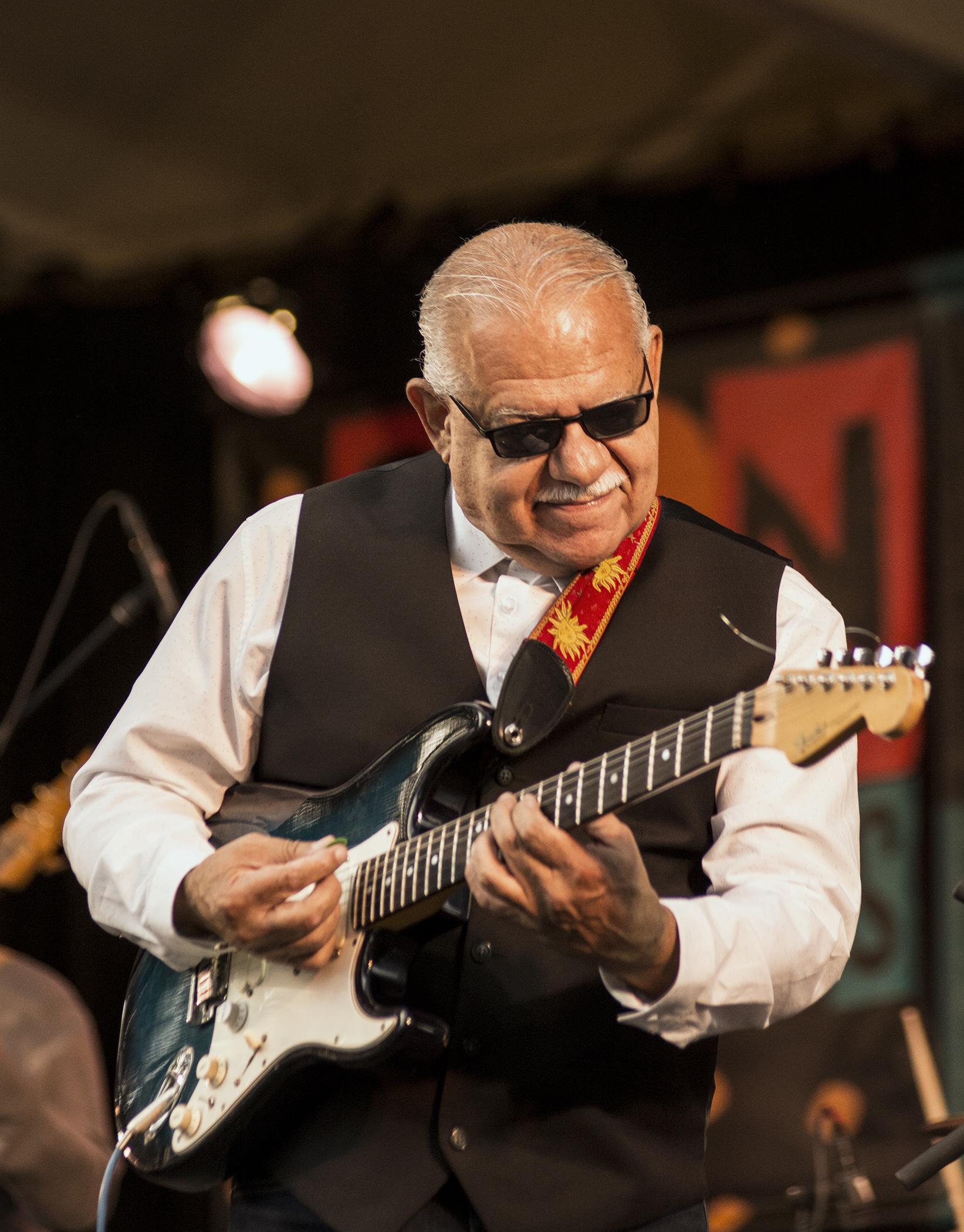 Ray Obiedo at Monterey Jazz Festival 2017