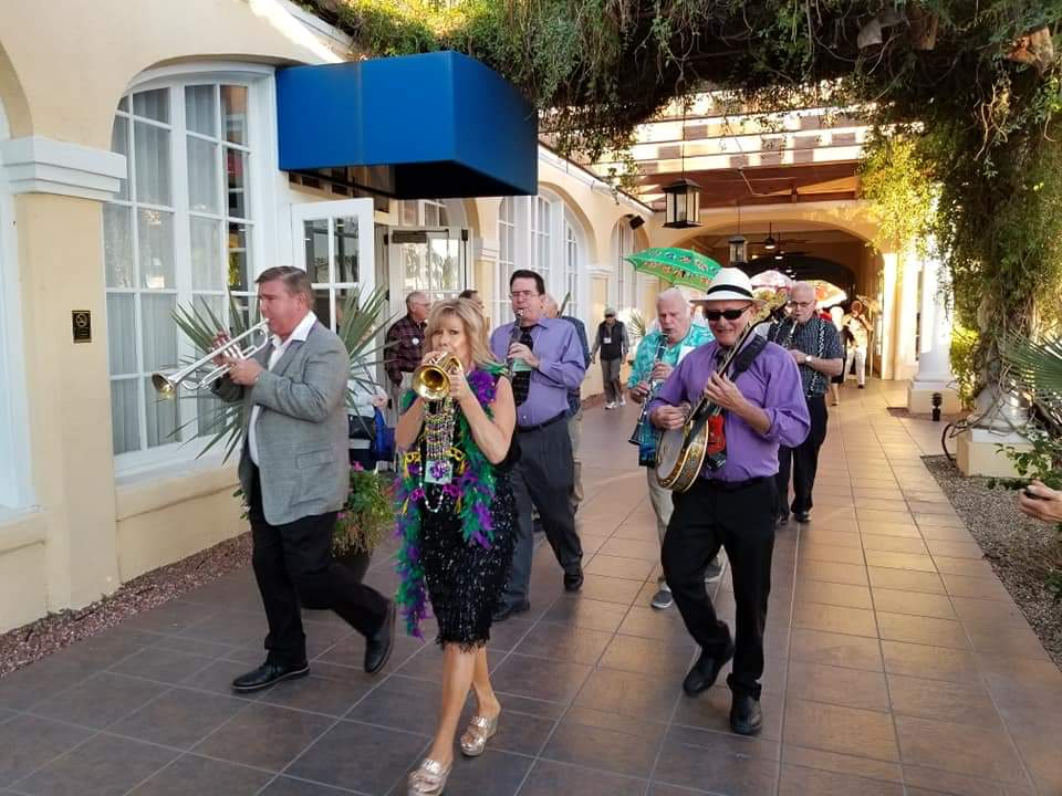 Arizona Classic Jazz Society 2nd Line Parade