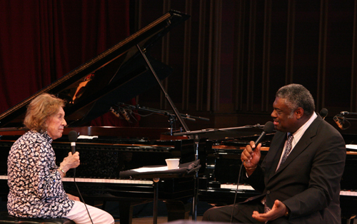 Marian McPartland and Mulgrew Miller