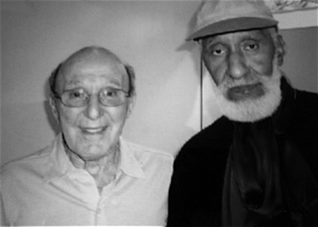 Sal Capozucca with Sonny Rollins