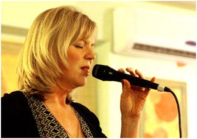 Trudy Kerr 22700 Epsom Jazz Club, the White Horse, Epsom, Surrey, UK. 1st April 2008. Images of Jazz
