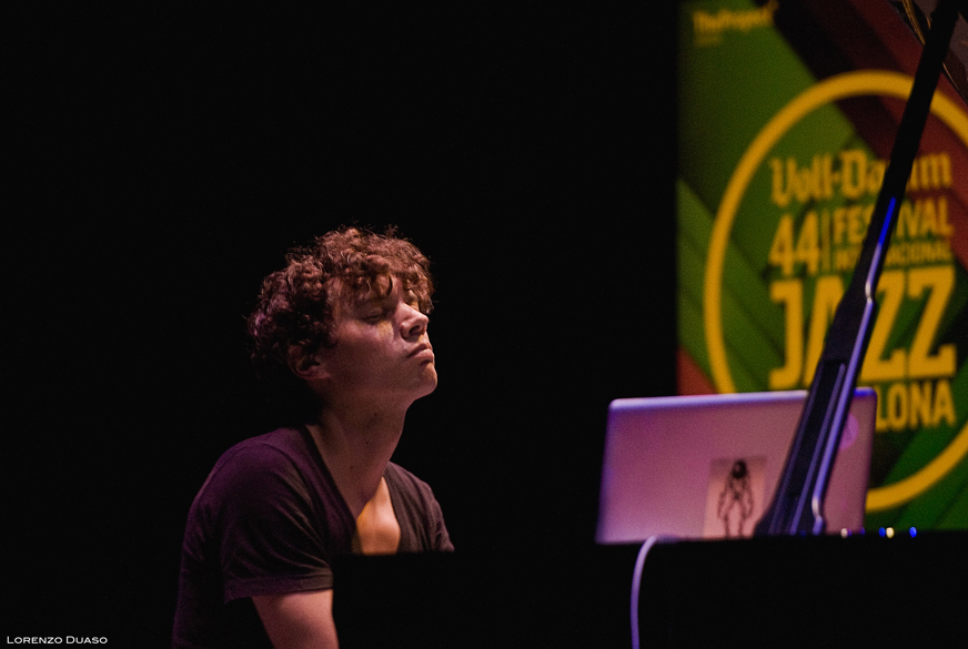 Francesco Tristano at the 44 Barcelona Voll-Damm Jazz Festival