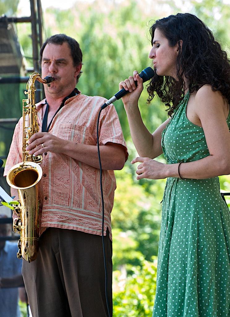 Phil dwyer & laila biali - markham jazz festival