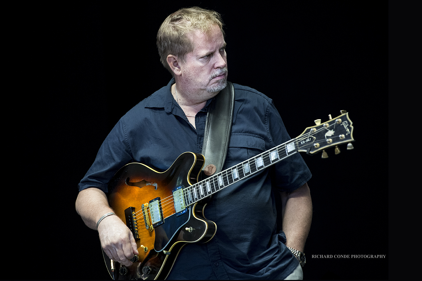 Dave Stryker at the Freihofer Saratoga Jazz Festival 2017