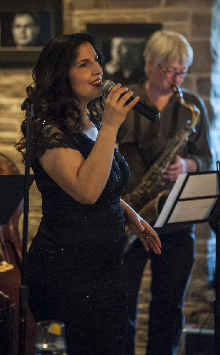 Melissa stylianou & mike murley @ the home smith bar - the old mill inn - toronto