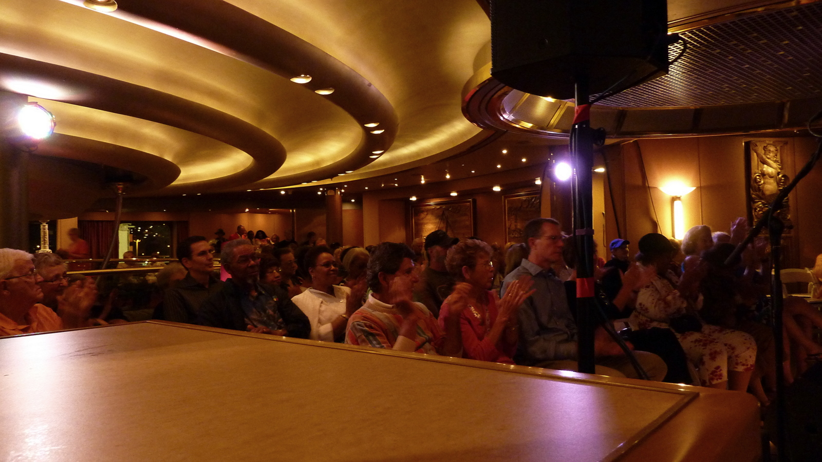 The Jazz Cruise Audience