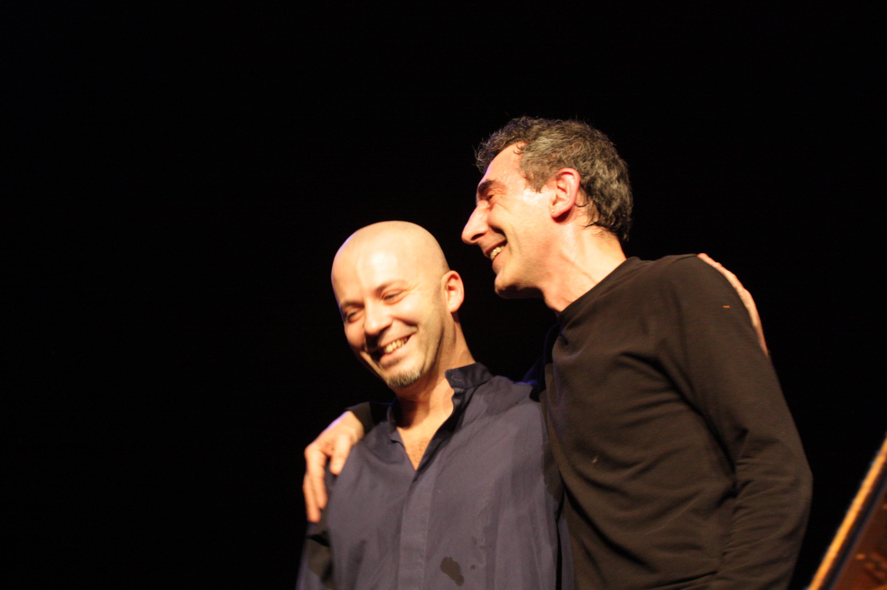 Stefano Battaglia and Michele Rabbia