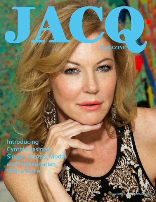 Cynthia Basinet Cover Story for Jacq Magazine