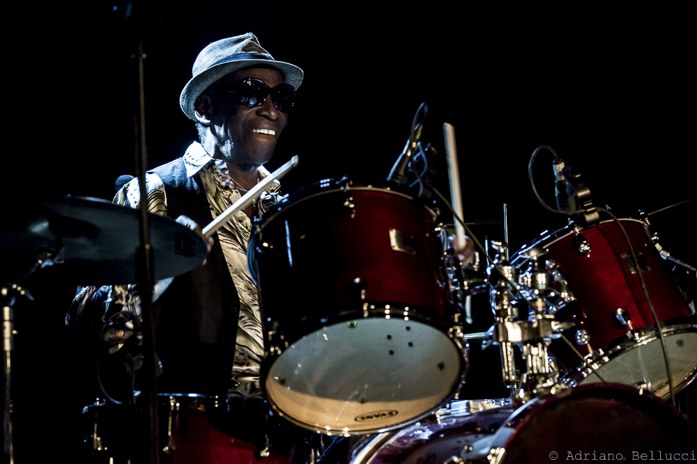 Tony Allen at Jazz Evidence 2016 - Rome