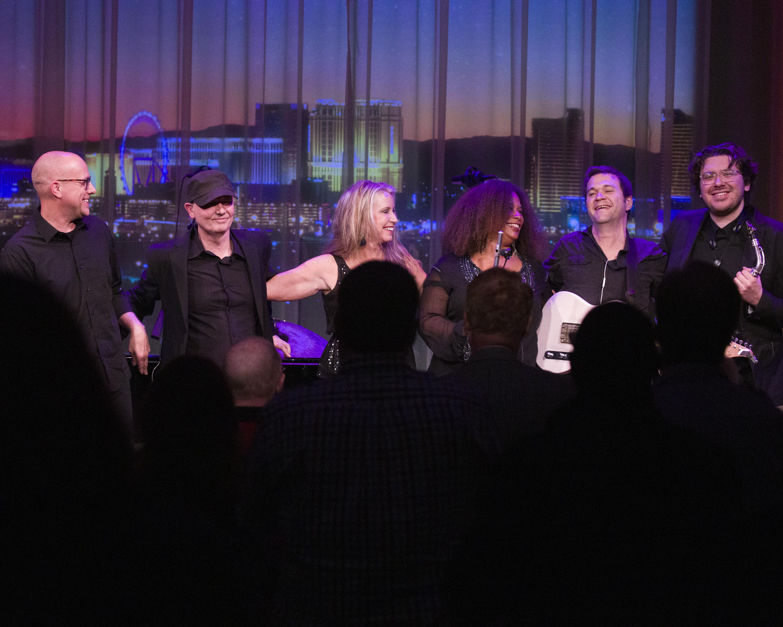 Carol Albert Show at Myron's Cabaret Jazz , Las Vegas