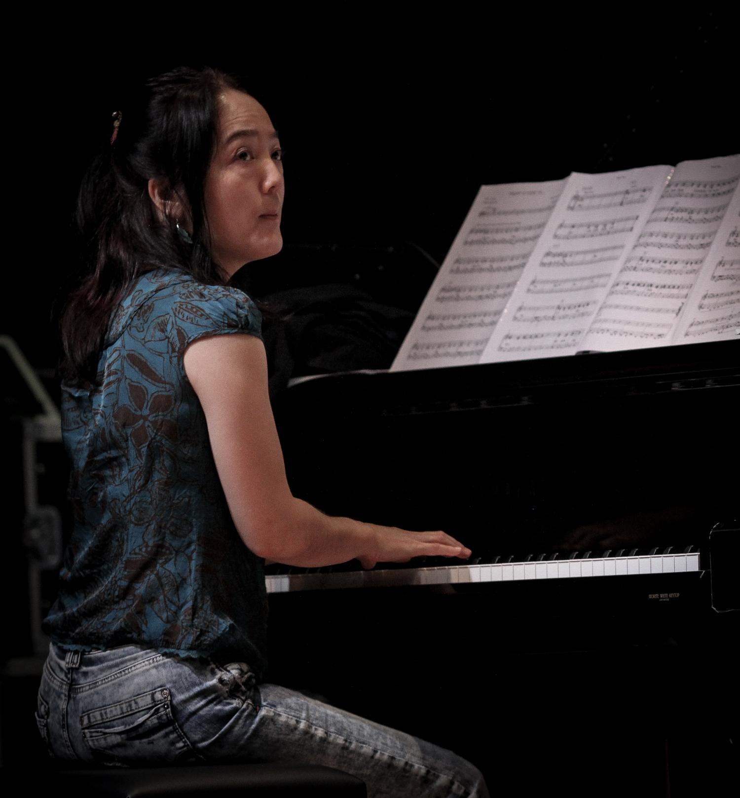 Makiko hirabayashi, valby summer jazz 2013, copenhagen, denmark
