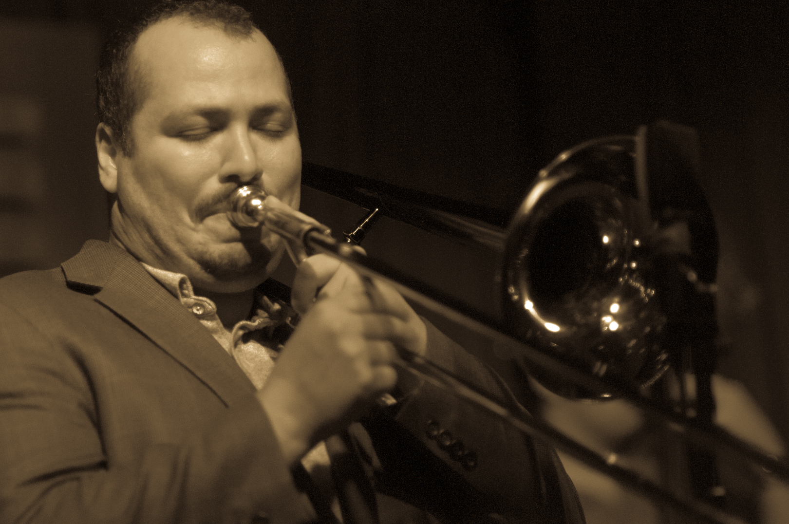 Michael Dease with the Ken Fowser Quintet at Smoke Jazz Club