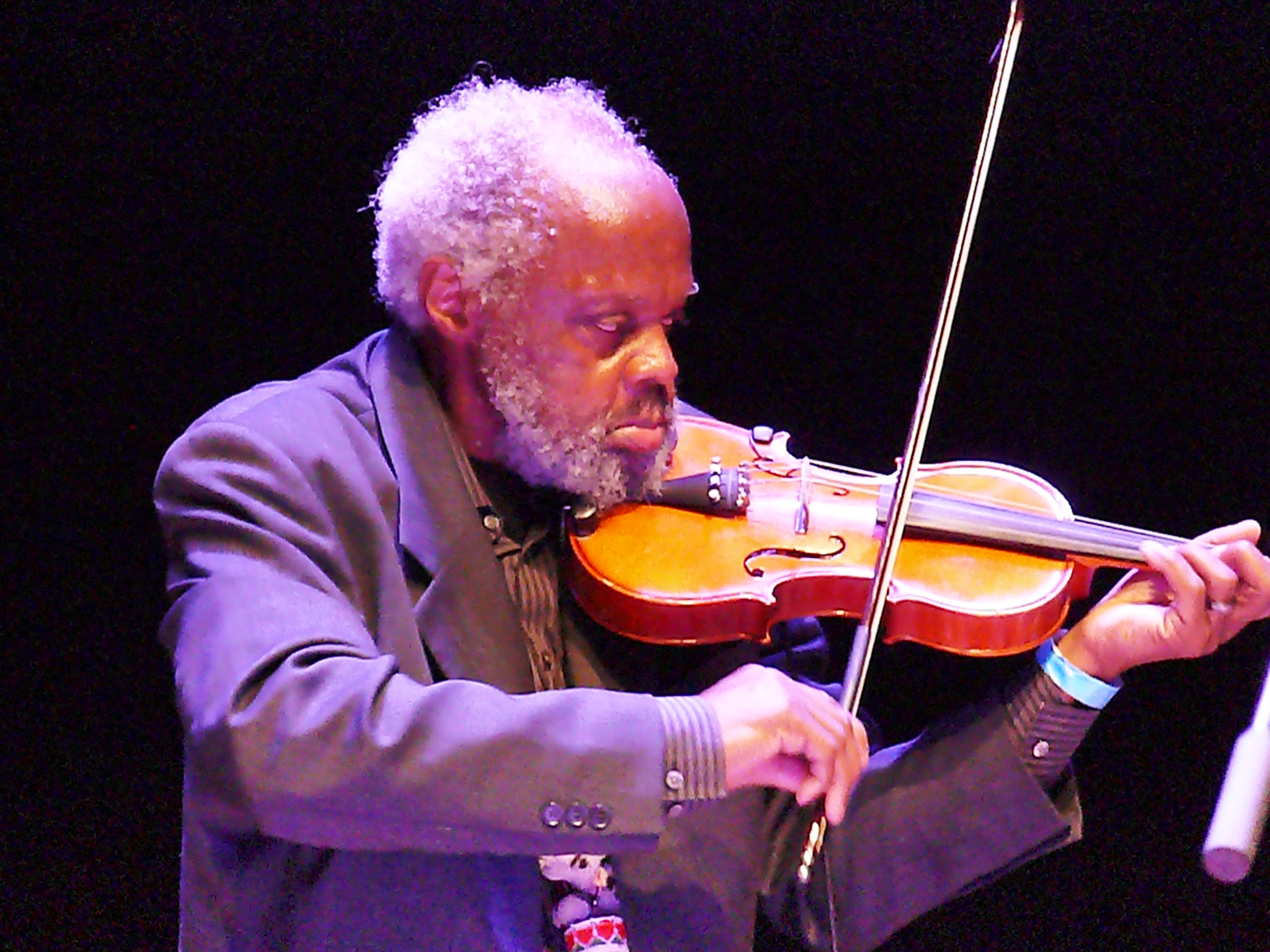Henry grimes at the vision festival, new york in june 2013