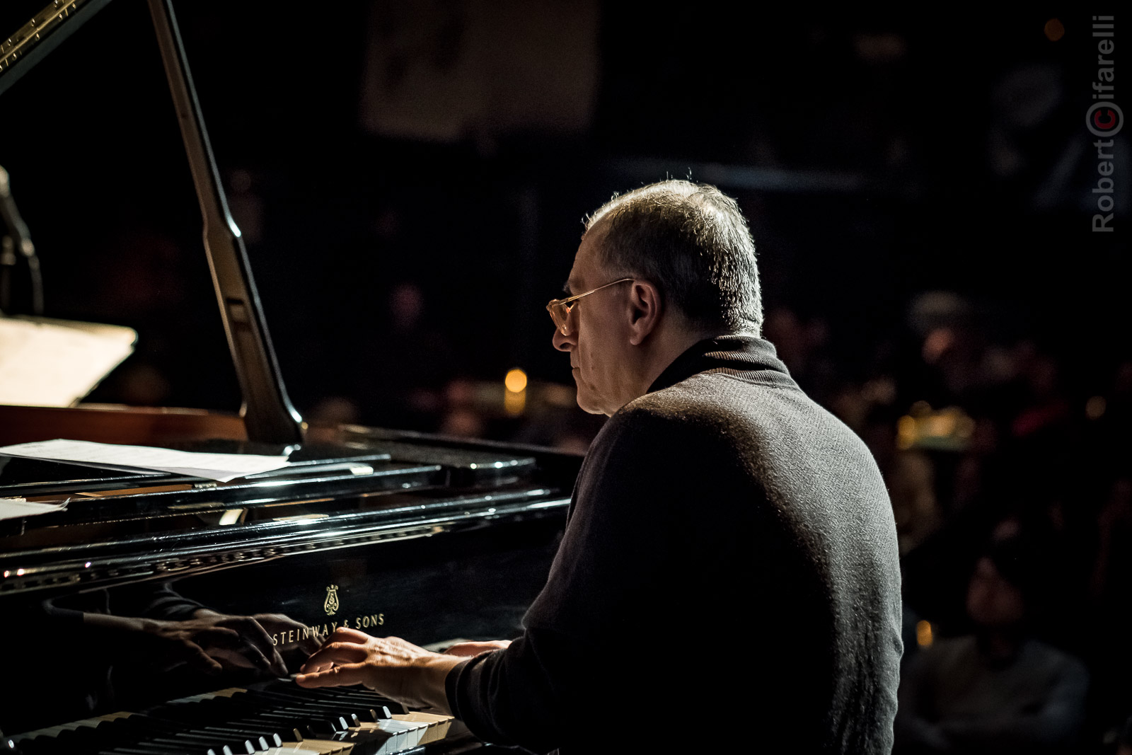 Enrico Pieranunzi  Fly Trio at Bluenote in Milan