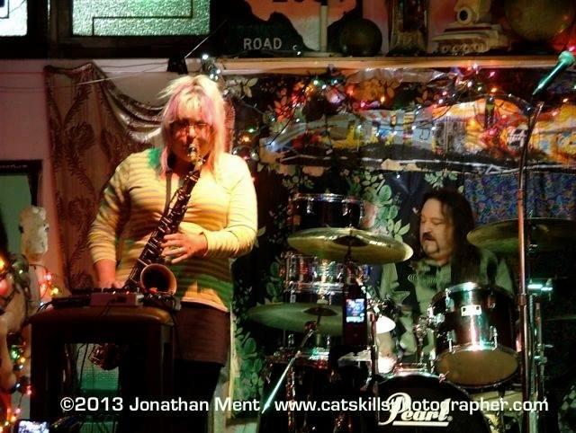 Bonnie Kane and Mark Mcclemens at Goodbye Blue Monday