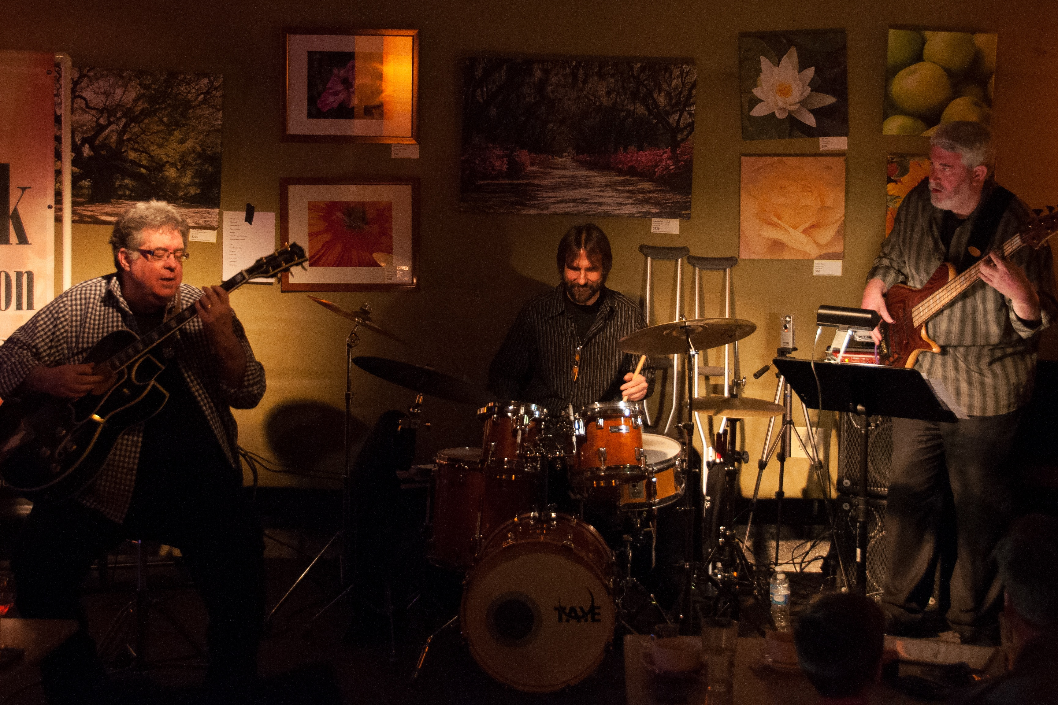 Chuck Anderson Trio - Live at Melodies Cafe, April 11, 2015