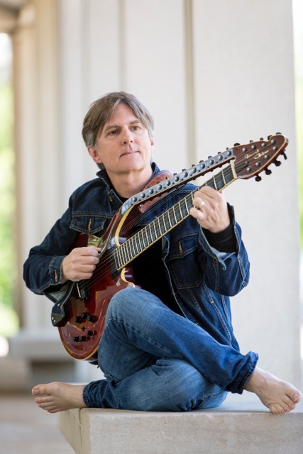 World's Leading Performer Of  Hybrid Sitar/Guitar Todd Mosby Tours California With Michael Manring & Henry Kaiser