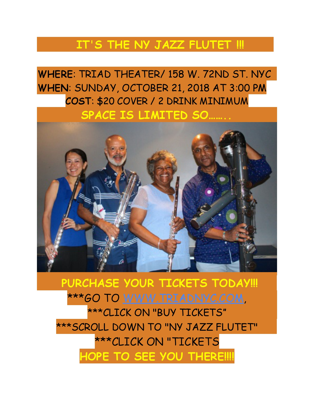 The NY Jazz Flutet