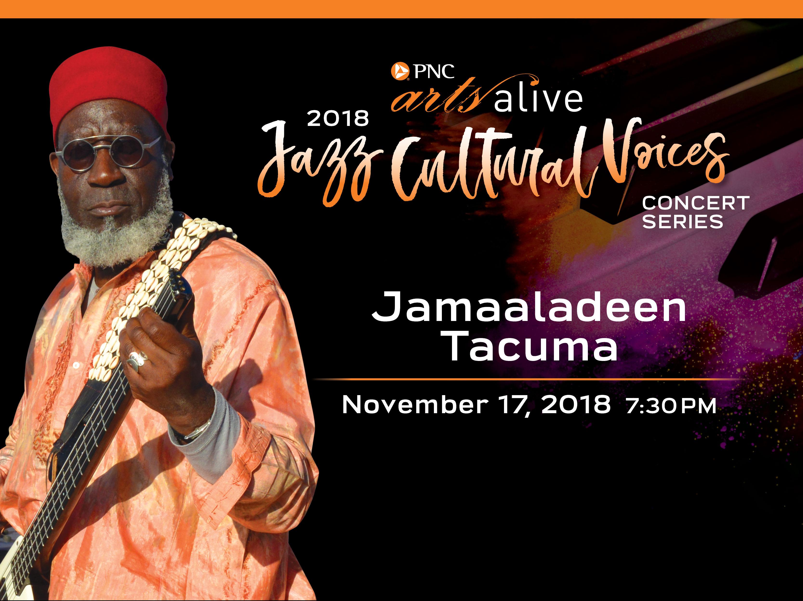 Jamaaladeen Tacuma & The Gnawa Soul Experience Band