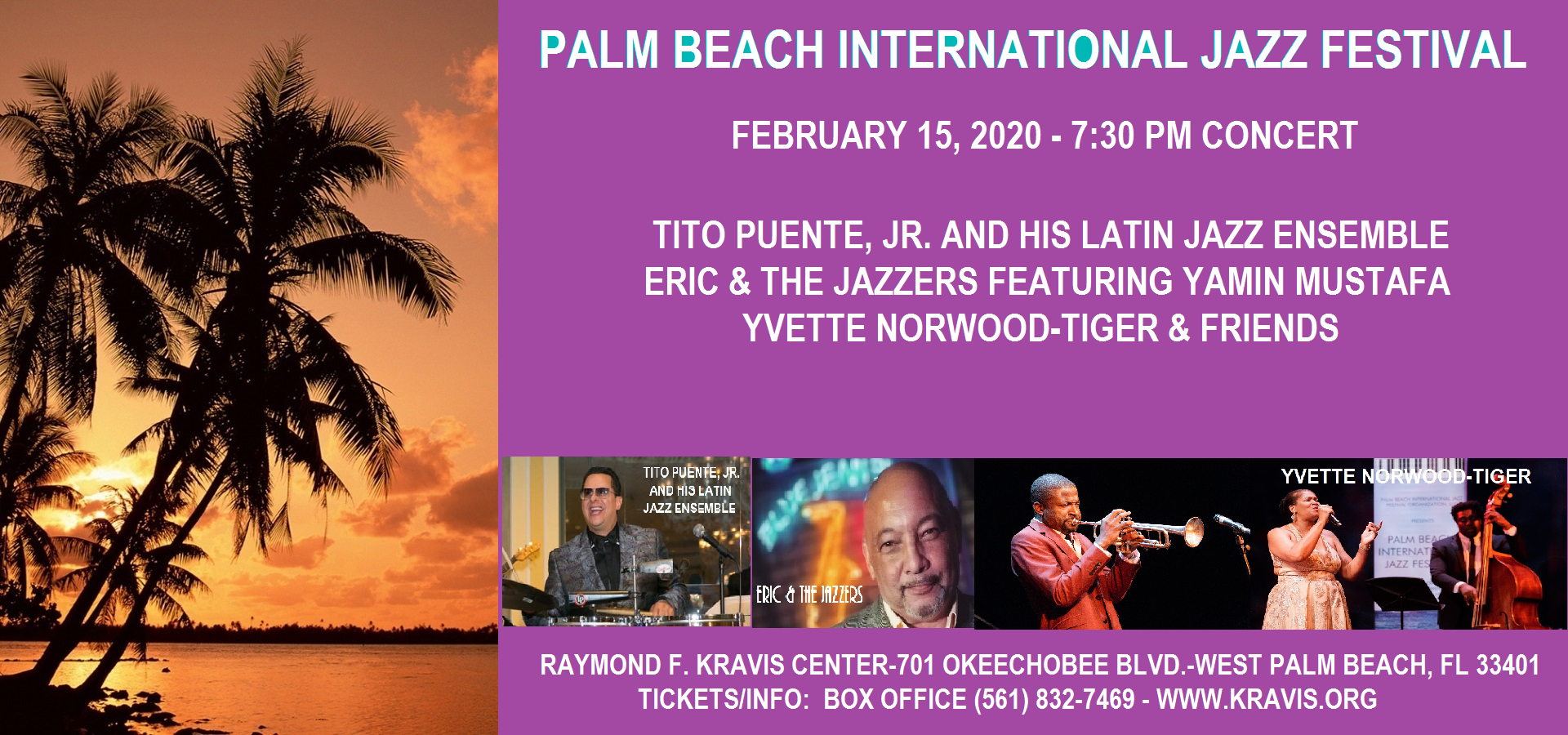 2nd Annual Palm Beach International Jazz Festival
