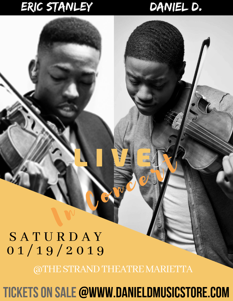 Violinists Daniel D. And Eric Stanley Live In Concert