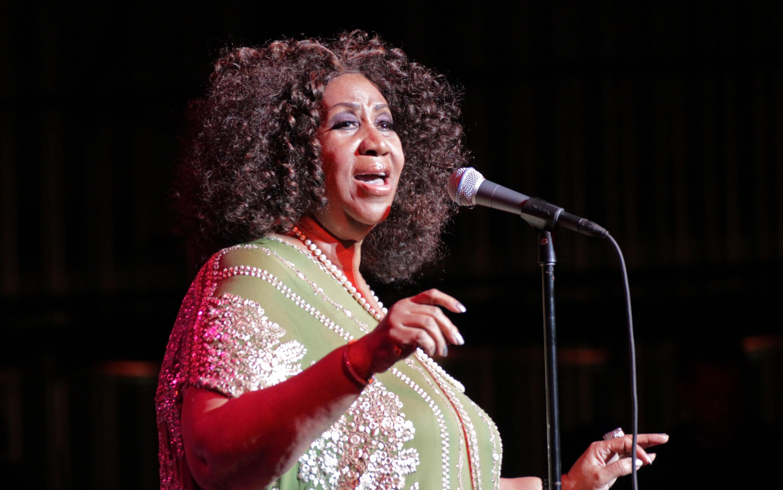 Aretha Franklin at Tri-C Jazzfest Cleveland