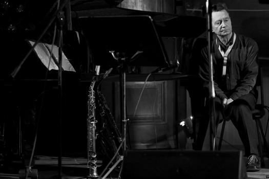 Zbigniew Namyslowski of Zbigniew Namyslowski Quintet in Gdansk/Poland in Jan. 2006