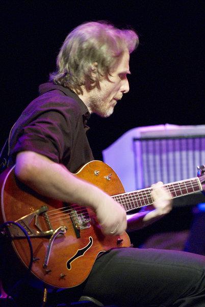 Brad Shepik Playing Guitar