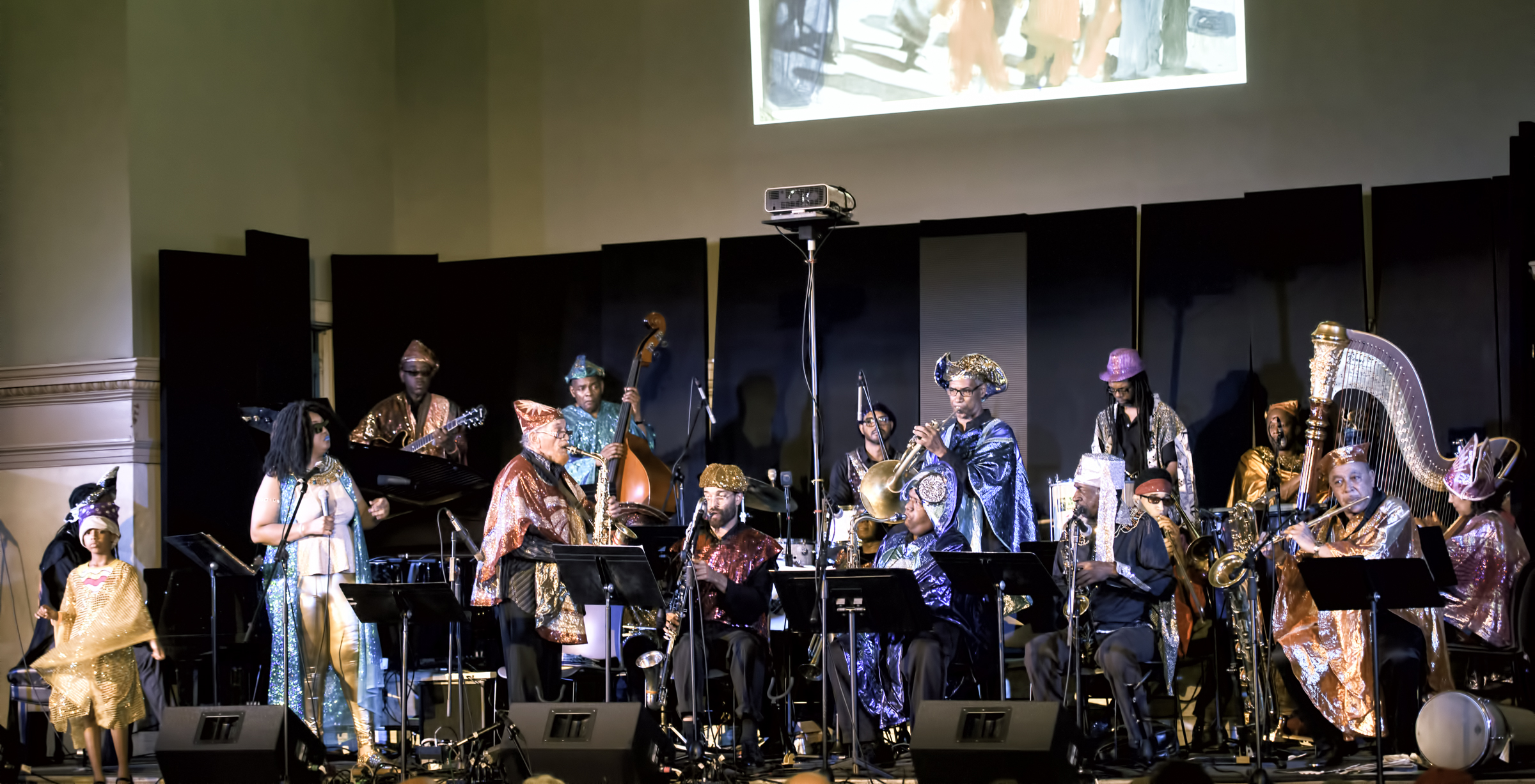 The Sun Ra Arkestra Directed by Marsall Allen at the 20th Anniversary Vision Festival 2015