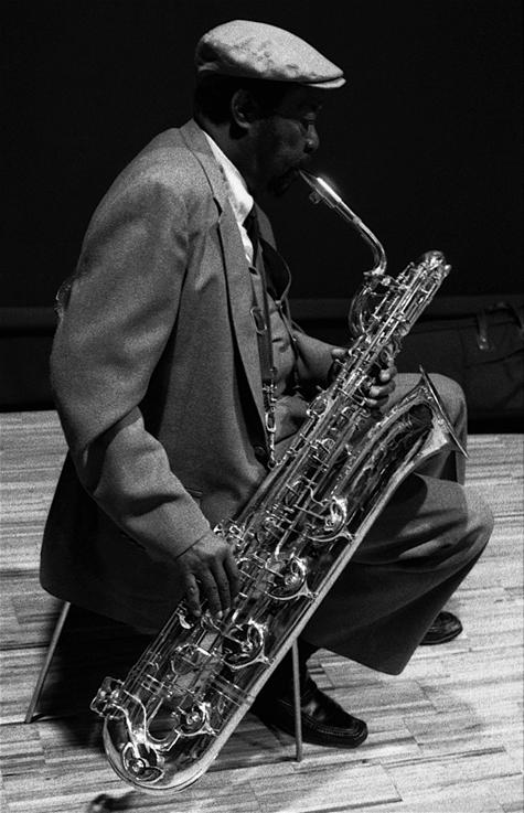 Cecil Payne. Valencia (Spain), 1992