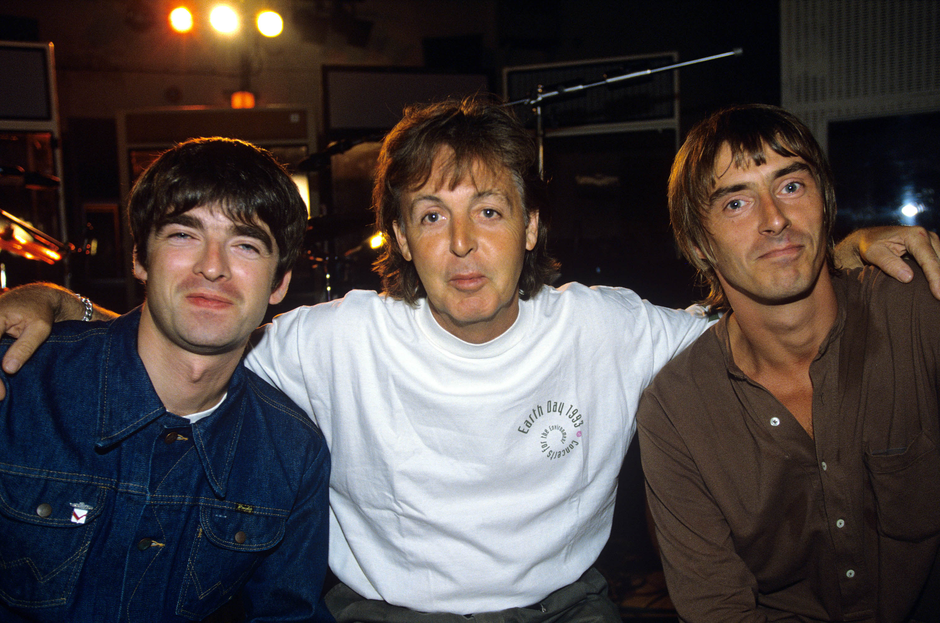 Noel Gallagher, Paul McCartney and Paul Weller